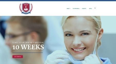 DCI Website Screenshot