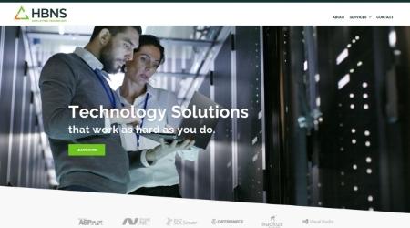 HBNS Website Screenshot