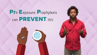 Pre-exposure prophylaxis can prevent HIV