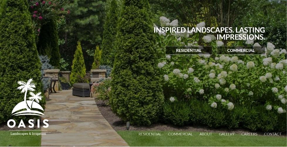 Oasis Landscape & Irrigation Homepage