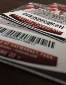 tickets printing